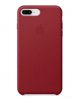 Чехол Apple Leather Case для iPhone 8/7 Plus (PRODUCT)RED