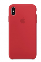 Чехол Apple Silicone Case для iPhone XS Max, (PRODUCT)RED